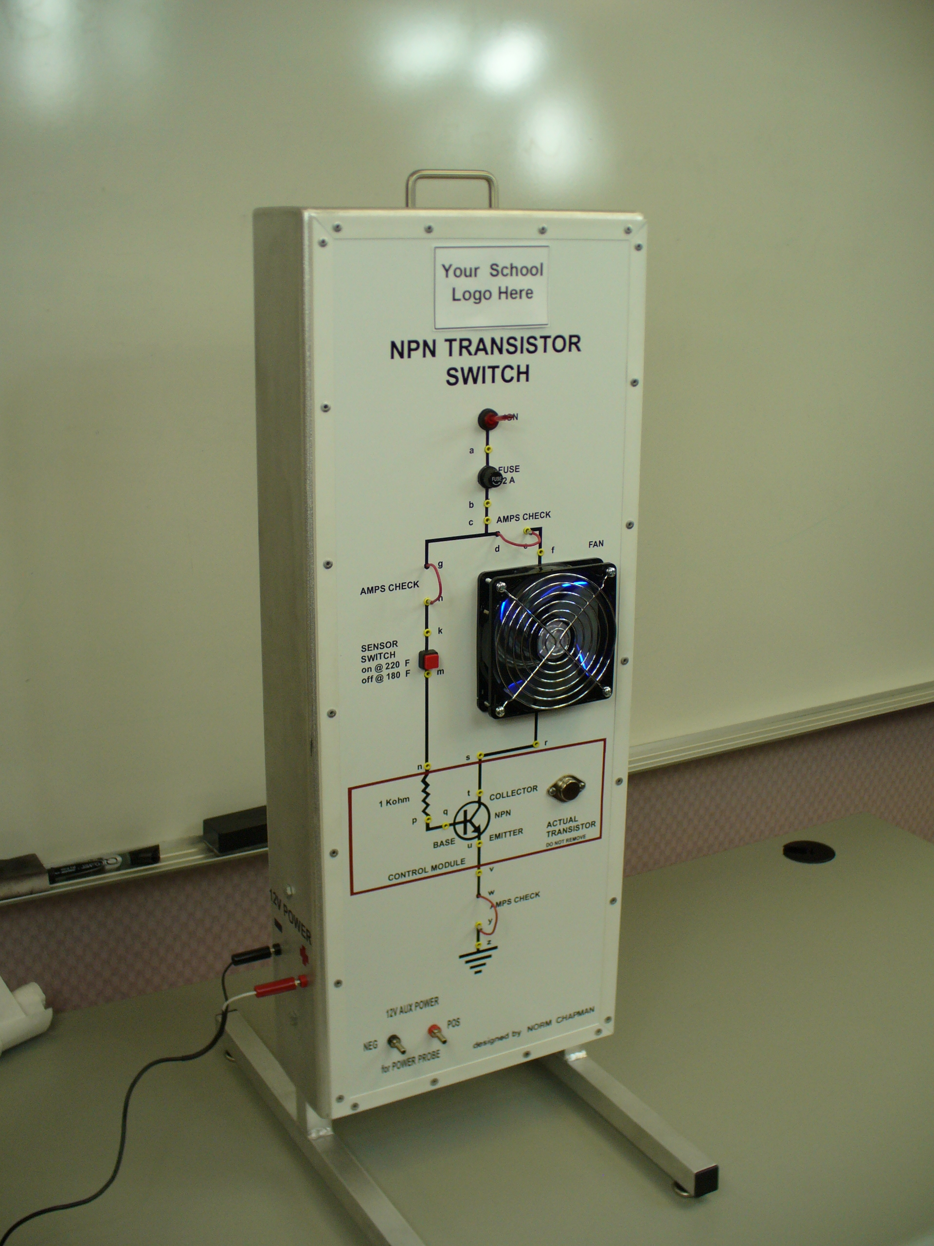 Npn Transistor Circuit Affordable Electrical Training Aids Circuits Npn8